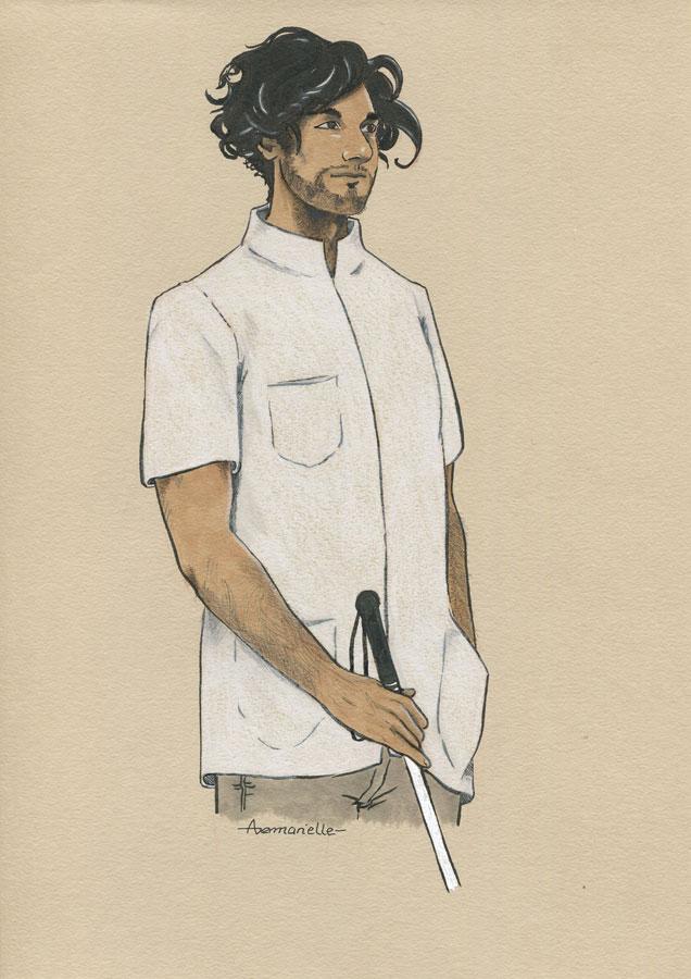 Léon - dessin original par Aemarielle