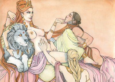 Ishtar, la Faiseuse de rois- Aemarielle