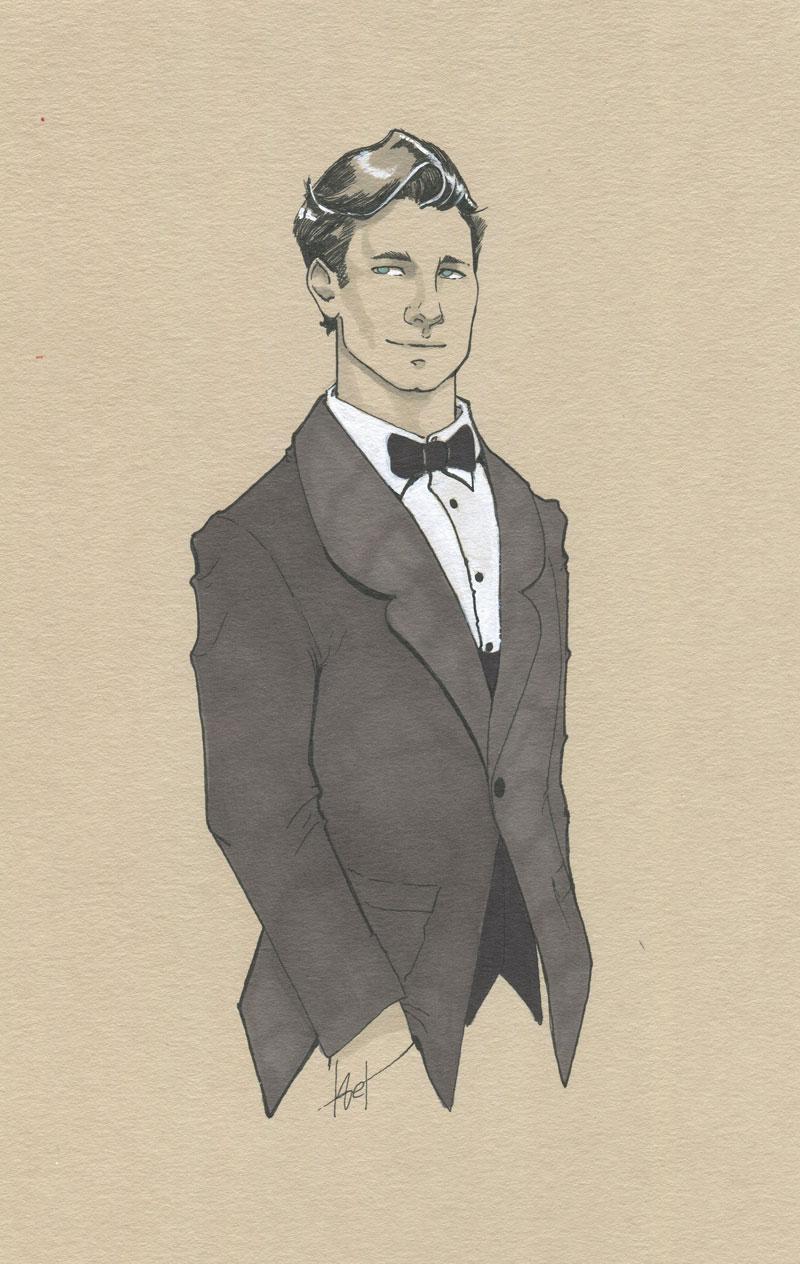 Zacharie - dessin original par Aemarielle