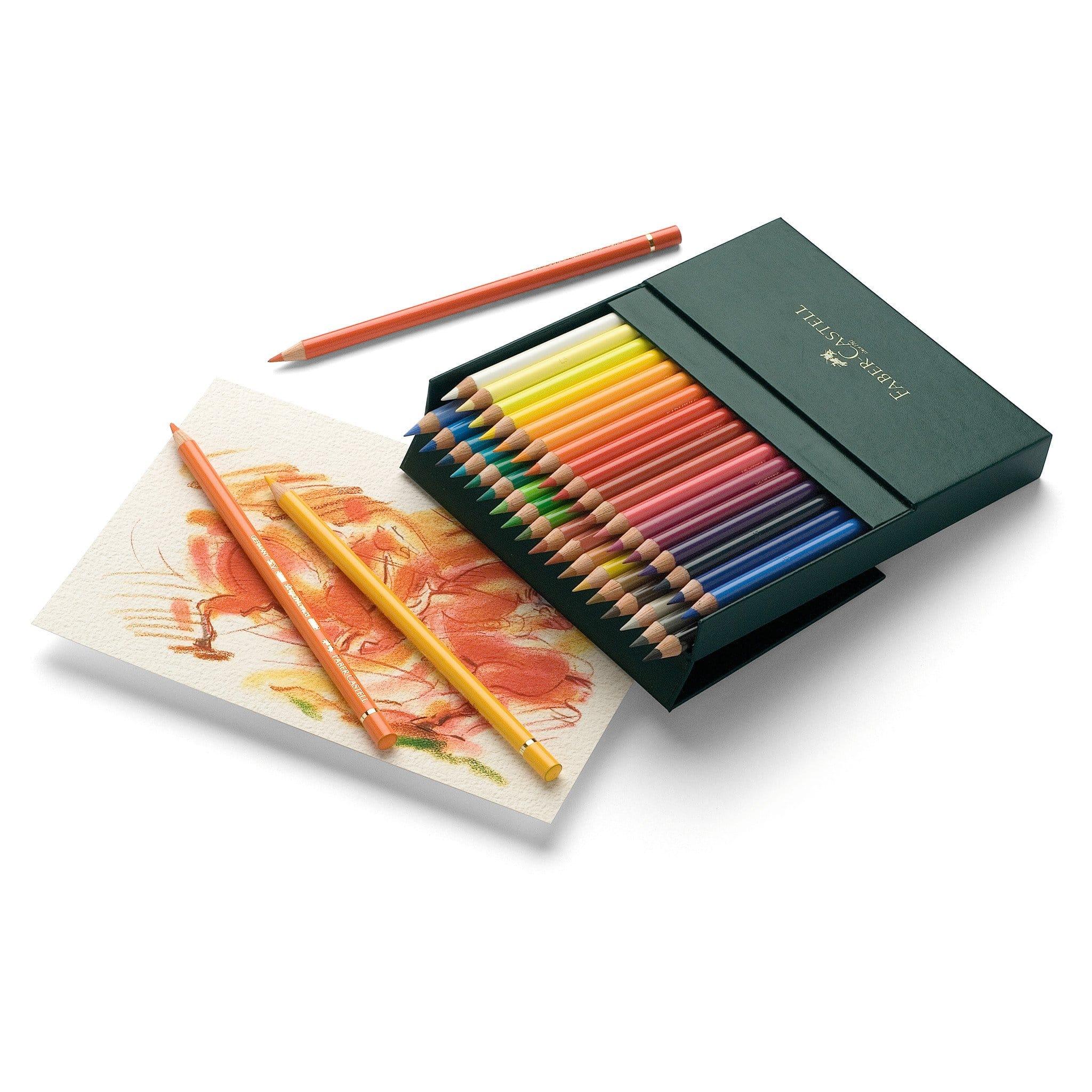 Polychromos crayons de couleur - fournitures artistiques