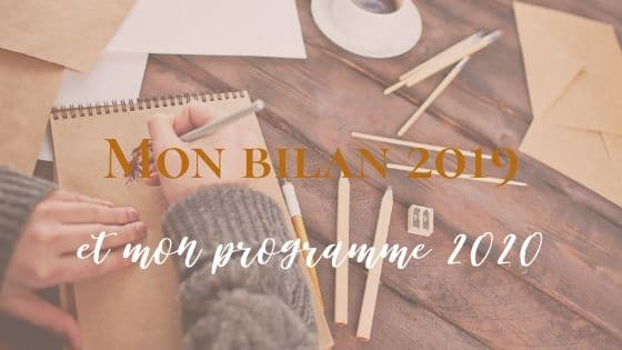 Mon bilan 2019 et le programme 2020