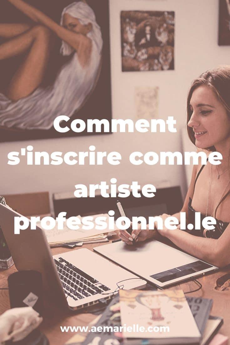 Comment s'inscrire comme artiste pro