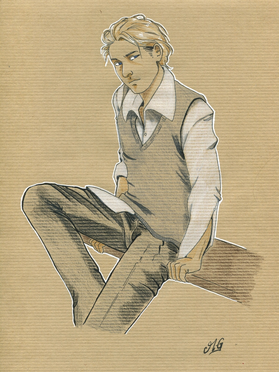 Littlejohn- la réelle hauteur des hommes - illustration de personnage