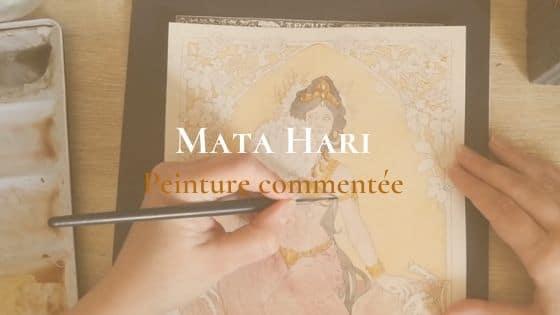 Illustration commentée – Mata Hari (Vidéo)