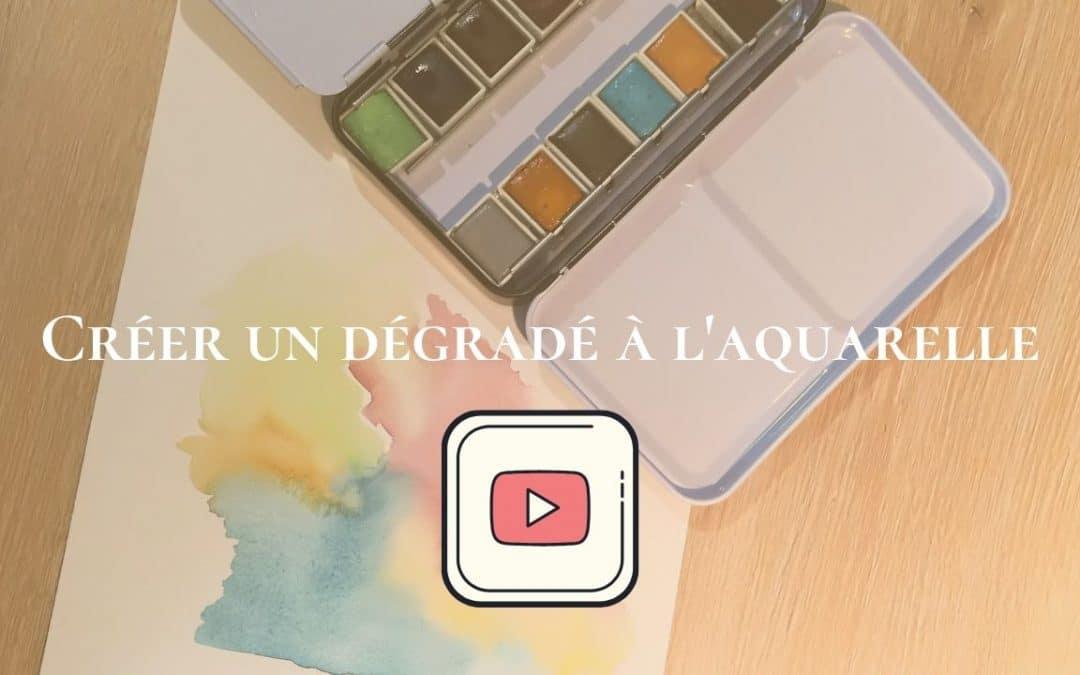 Comment créer un dégradé à l'aquarelle (Vidéo)