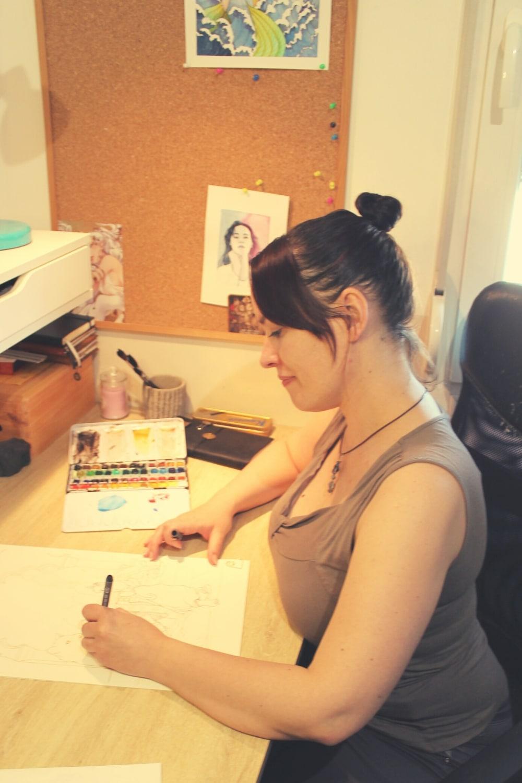 Portrait profil aemarielle atelier