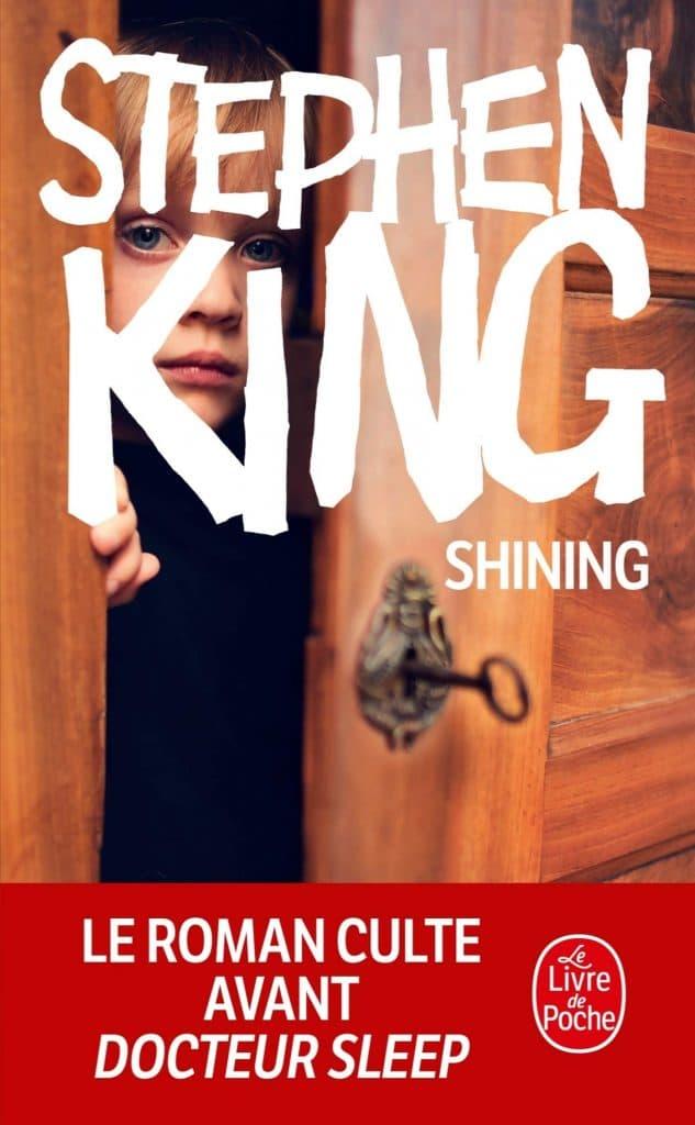 Couverture roman Shining Stephen King