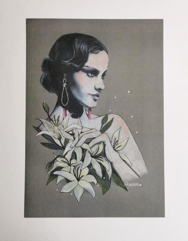 Film noir poster A4