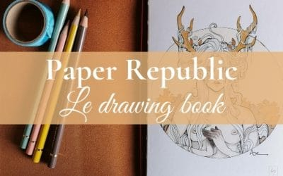 Paper Republic notebook | Mon opinion (de fangirl) sur le Drawing Book XL