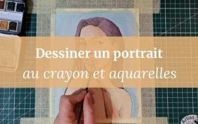 Comment dessiner un portrait | ma méthode (vidéo incluse)