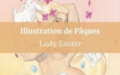 Illustration de Pâques | Lady Easter