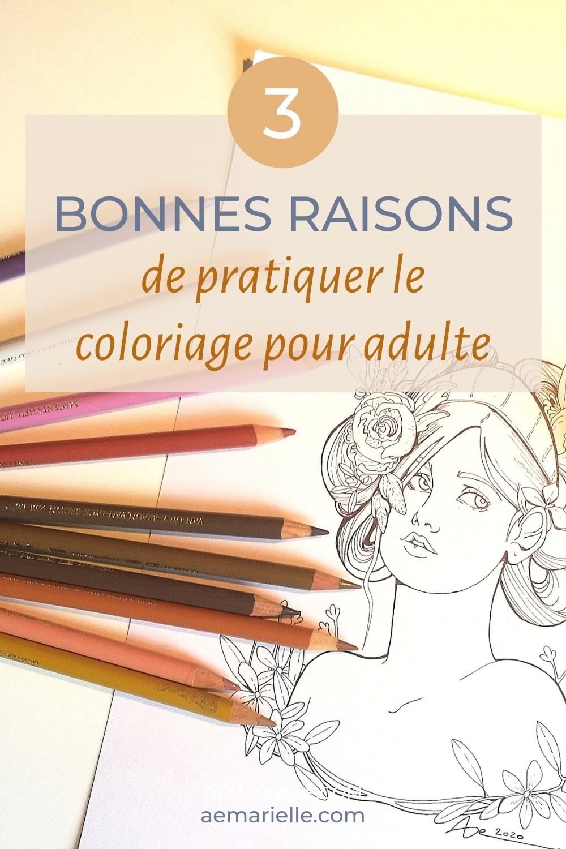 3 raisons de pratiquer le coloriage pour adulte