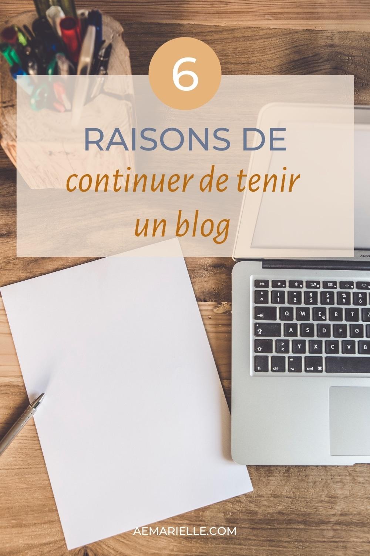 6 raisons de tenir un blog