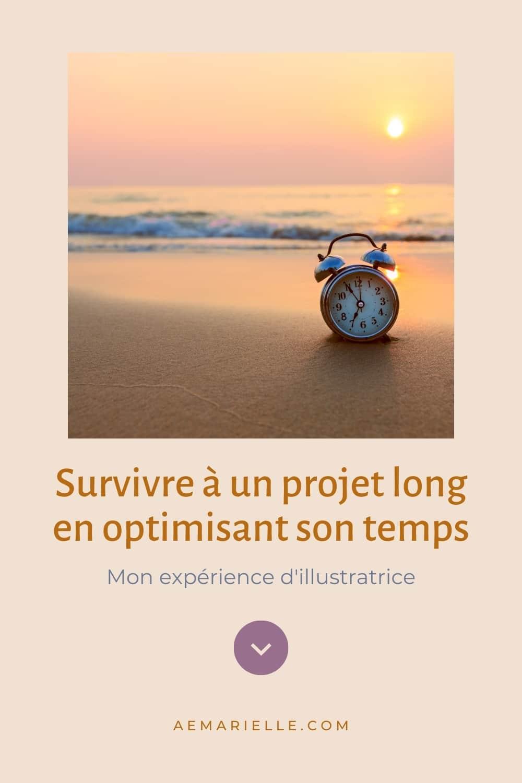 Optimiser son temps - épingle Pinterest - Aemarielle