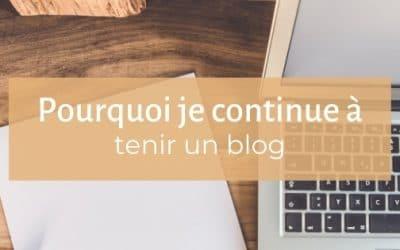 Pourquoi tenir un blog en 2021