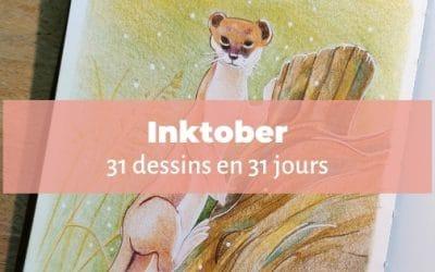 Inktober | 31 dessins en 31 jours